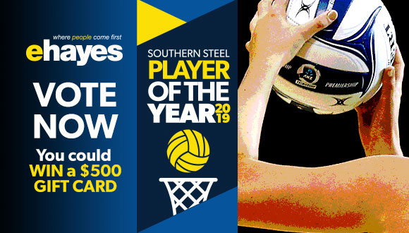 Vote for your E Hayes Southern Steel Player of the Year and you could WIN a $500 Gift Card from E Hayes